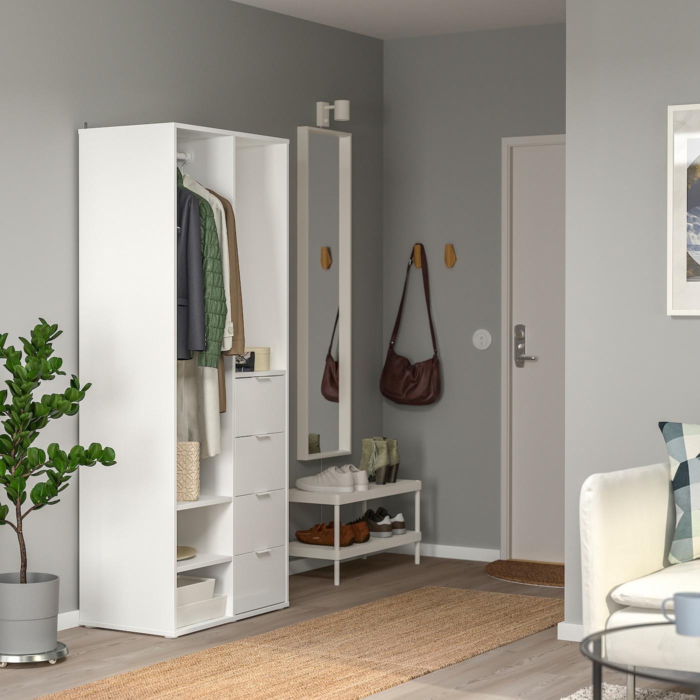 Armadio 8 Ante Ikea.Sundlandet Open Wardrobe White 31 1 8x17 3 8x73 5 8 Ikea