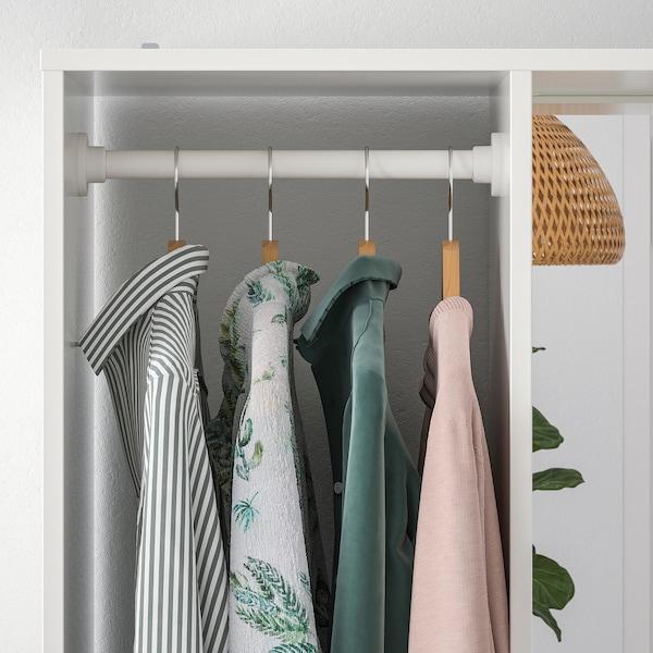 """SUNDLANDET Open wardrobe, white, 31 1/8x17 3/8x73 5/8 """""""