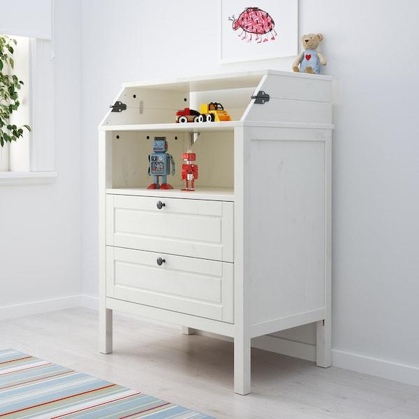 Sundvik Changing Table Chest White Ikea