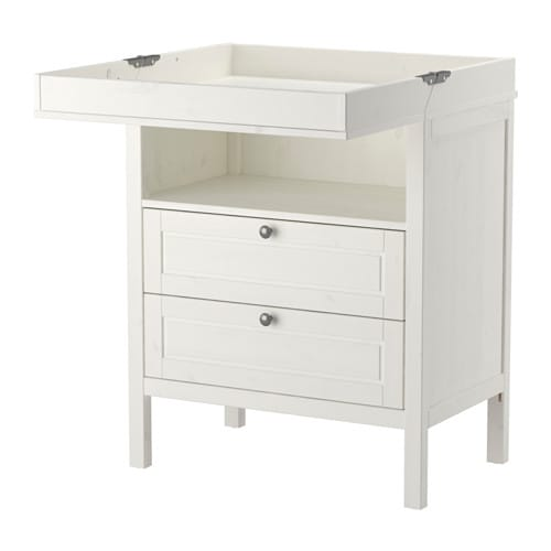 ikea dresser changing table. Black Bedroom Furniture Sets. Home Design Ideas
