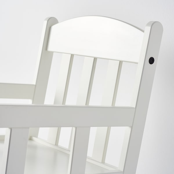 SUNDVIK Childrens rocking-chair, white