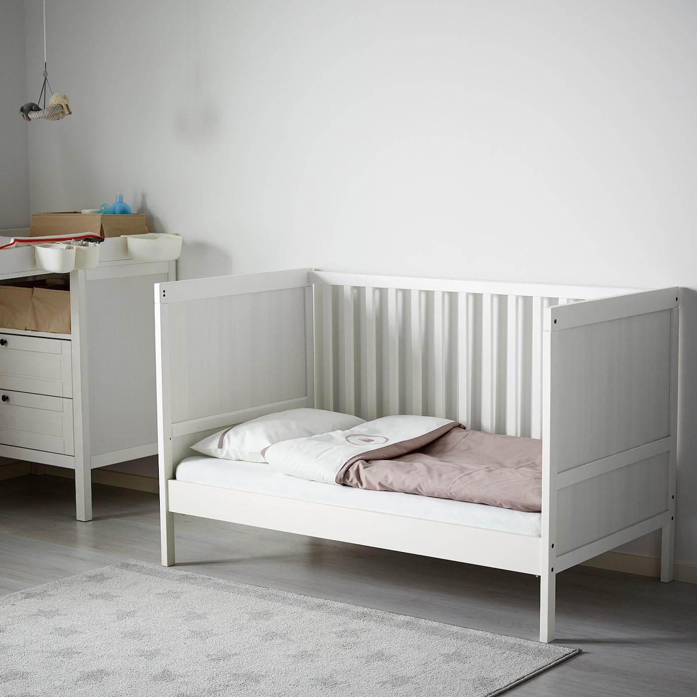Sundvik Crib White 27 1 2x52 Ikea
