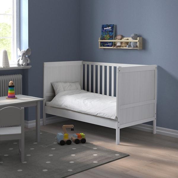 """SUNDVIK Crib, white, 27 1/2x52 """""""