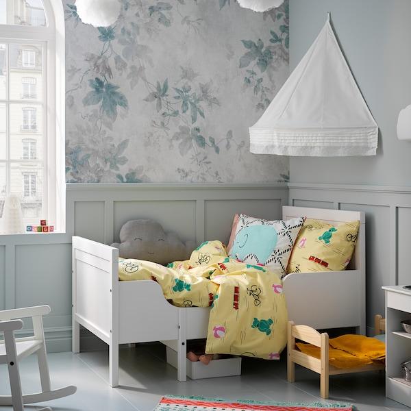IKEA SUNDVIK Ext bed frame with slatted bed base