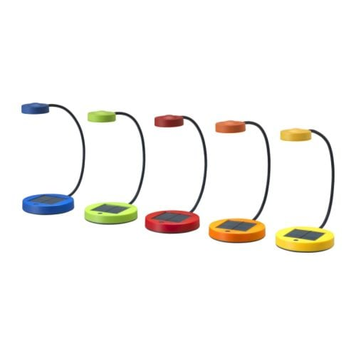 Sale alerts for Ikea SUNNAN LED table lamp, assorted colors - Covvet
