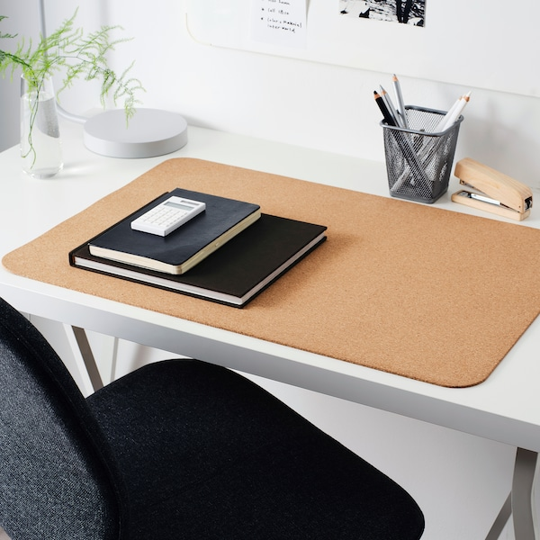 "SUSIG Desk pad, cork, 17 ¾x25 ½ """