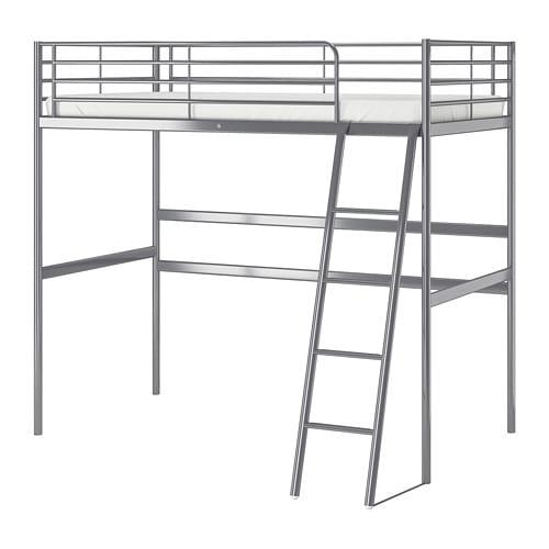Svarta Loft Bed Frame Ikea