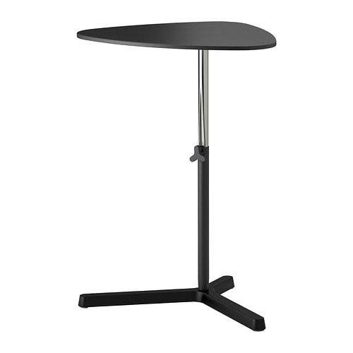 Svart sen laptop stand black ikea for Mobile porta pc ikea