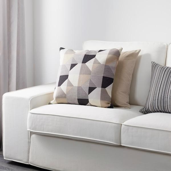 "SVARTHÖ Cushion cover, beige, 20x20 """