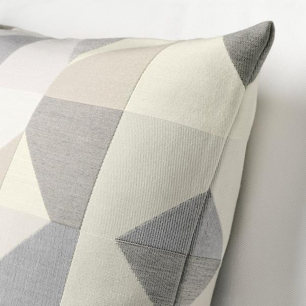 "SVARTHÖ Cushion cover, gray/beige, 20x20 """