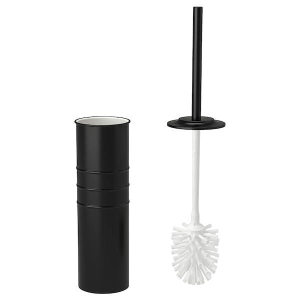 "SVARTSJÖN toilet brush black 19 ¾ "" 4 1/8 """