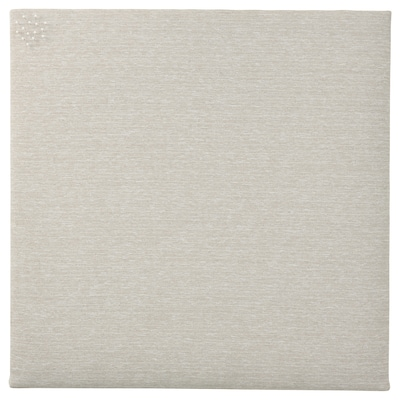 SVENSÅS Memo board with pins, beige, 23 ½x23 ½ ""