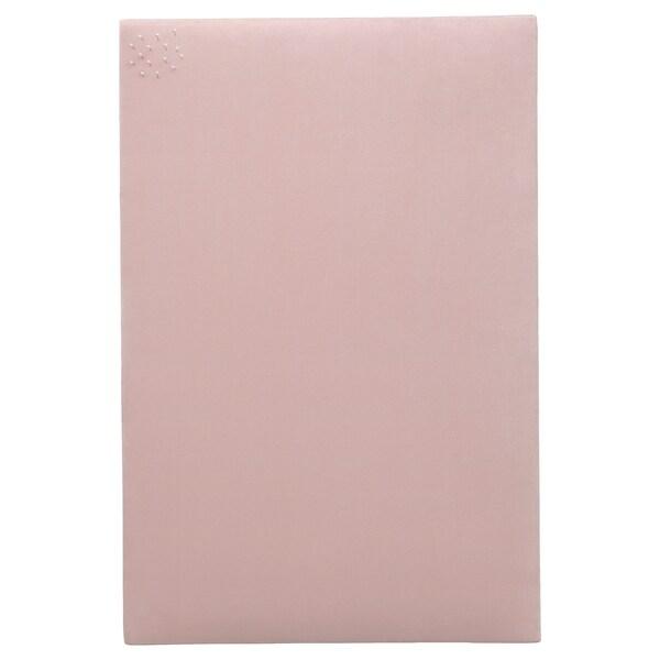 "SVENSÅS Memo board with pins, light pink, 15 ¾x23 ½ """
