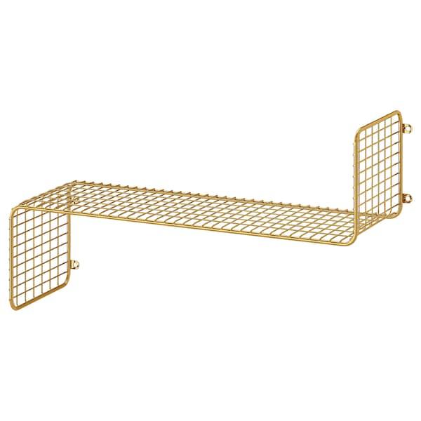 "SVENSHULT Wall shelf, gold, 23 5/8x7 7/8 """