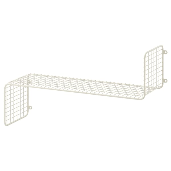 SVENSHULT Wall shelf, white, 23 5/8x7 7/8 ""