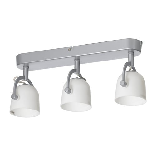Svirvel Ceiling Track 3 Spotlights Ikea
