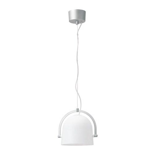 SVIRVEL Pendant lamp, white white -