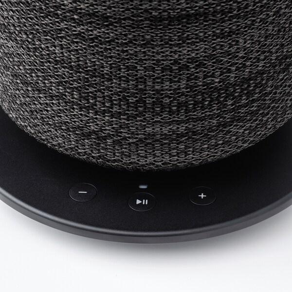 "SYMFONISK table lamp with WiFi speaker black 7 W 9 "" 9 "" 16 """