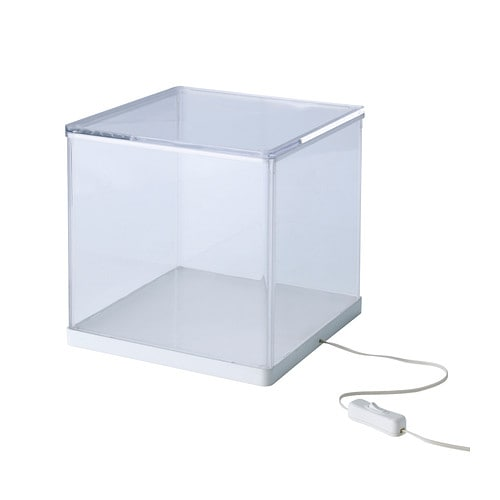 SYNAS LED light box, clear clear 9x9x9