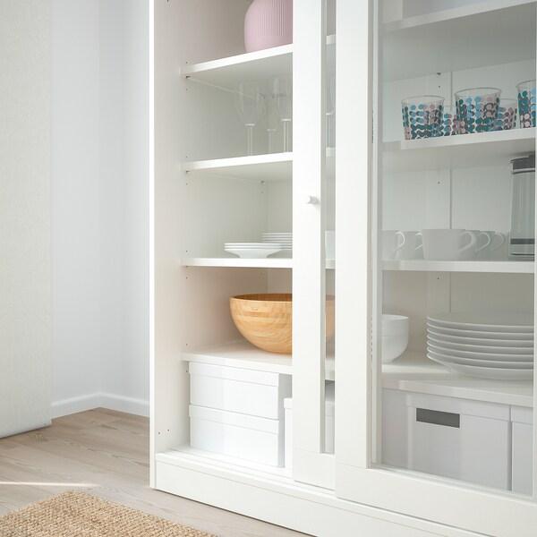 IKEA SYVDE Cabinet with glass doors