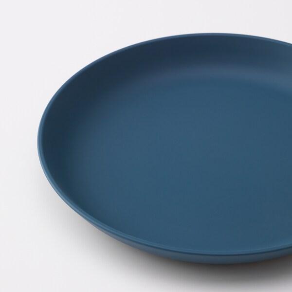 """TALRIKA side plate dark blue 7 ½ """" 4 pack"""