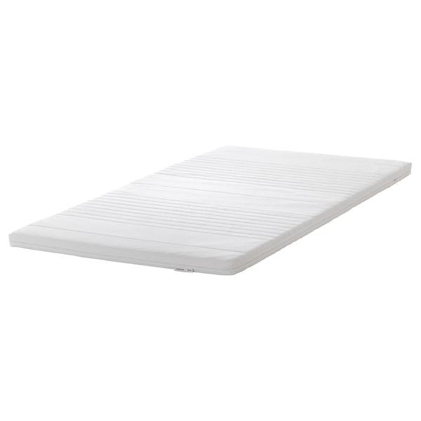"""TANANGER mattress topper white 74 3/8 """" 38 1/4 """" 2 3/8 """""""