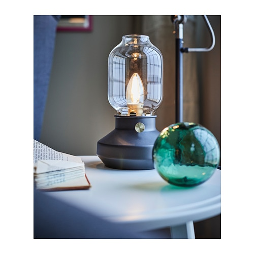 Superbe TÄRNABY   Table Lamp, Anthracite Black