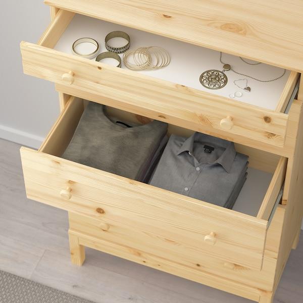 """TARVA 5-drawer chest, pine, 29 7/8x50 """""""