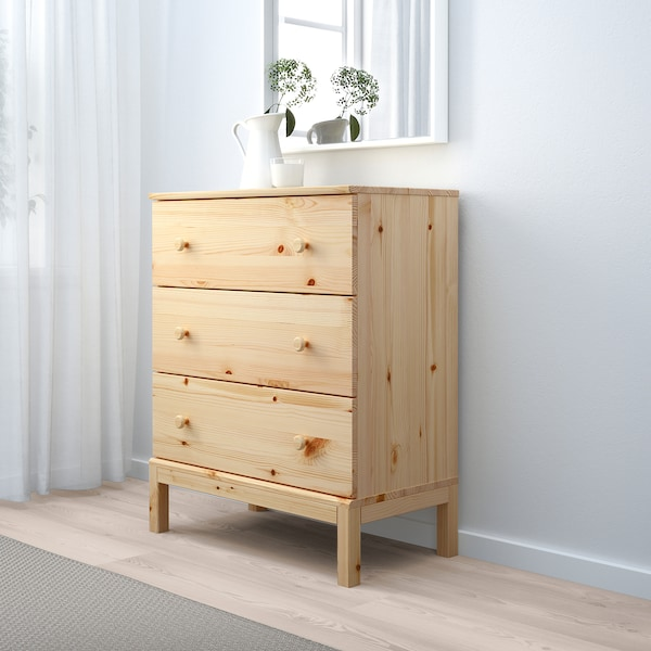 Tarva 3 Drawer Chest Pine 29 7 8x36 1 4 Ikea