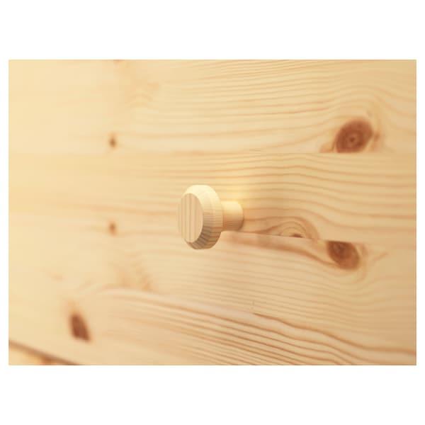 """TARVA 5-drawer chest pine 29 7/8 """" 15 3/4 """" 50 """" 12 5/8 """""""
