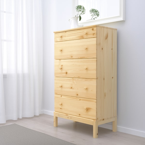 IKEA TARVA 5-drawer chest