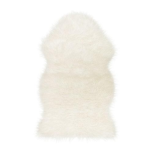 Ikea Sheepskin Rug Large: TEJN Faux Sheepskin