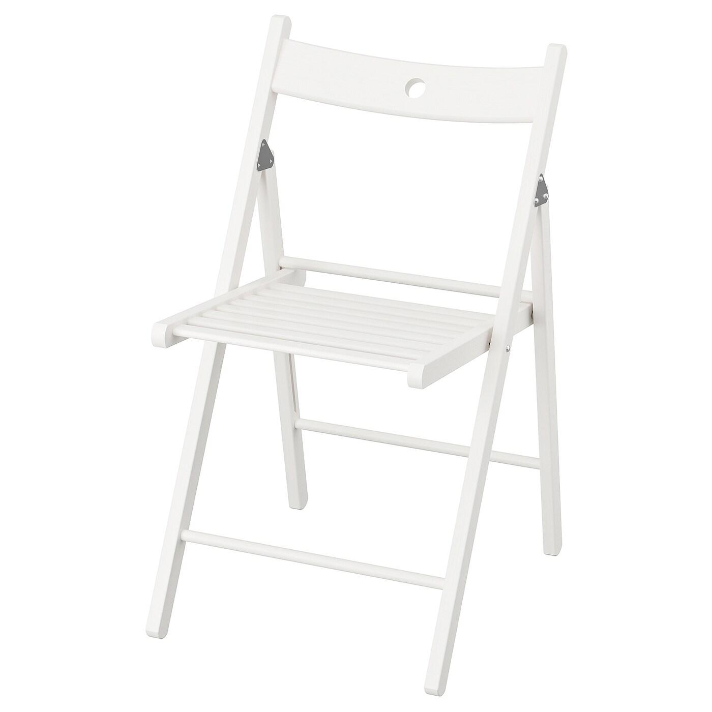 Terje Folding Chair White Ikea