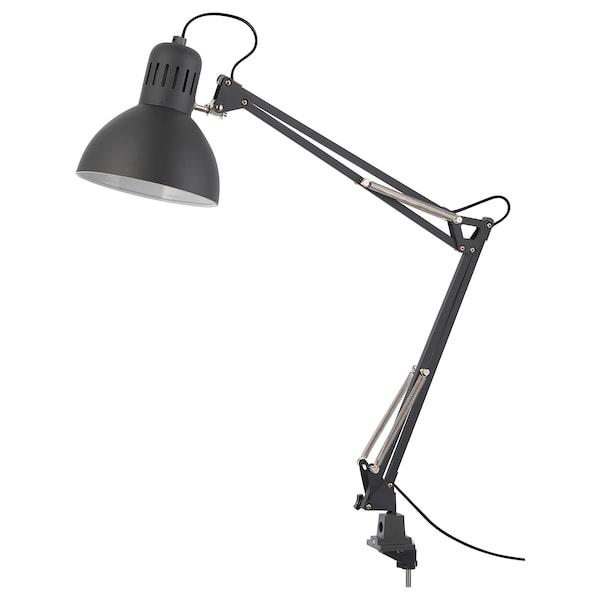 "TERTIAL work lamp with LED bulb dark gray 13 W 7 "" 4 ' 11 """