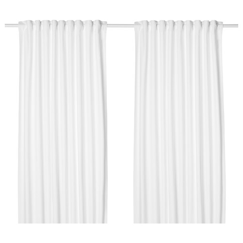 IKEA TIBAST Curtains, 1 pair