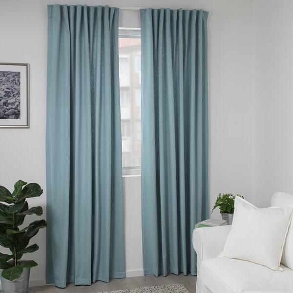 IKEA TIBAST Curtains, 1 pair