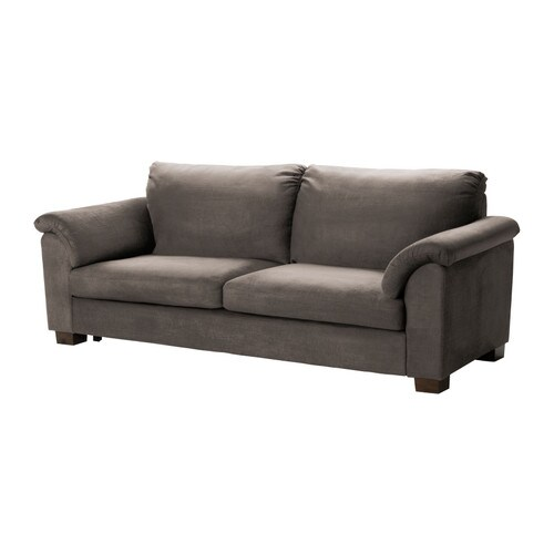 TIDAFORS Sofa bed IKEA Easy to fold out to a comfortable bed for two, with the sleeping direction parallel to the sofa.  Storage space under the seat.