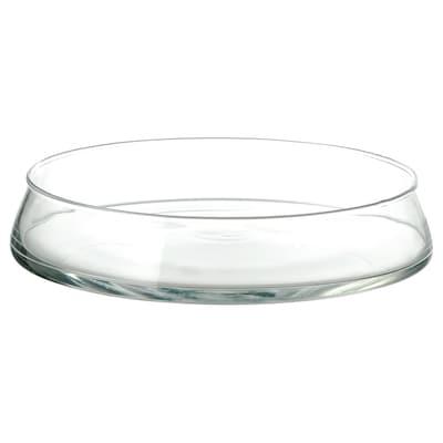 "TIDVATTEN bowl clear glass 10 """