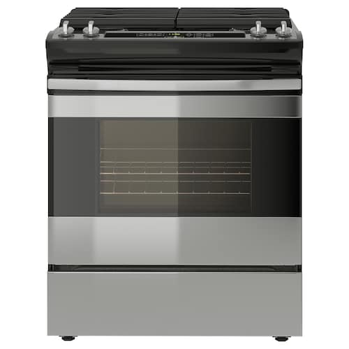 """TILLAGAD range with gas cooktop Stainless steel 29 7/8 """" 30 """" 37 1/2 """" 172 lb"""