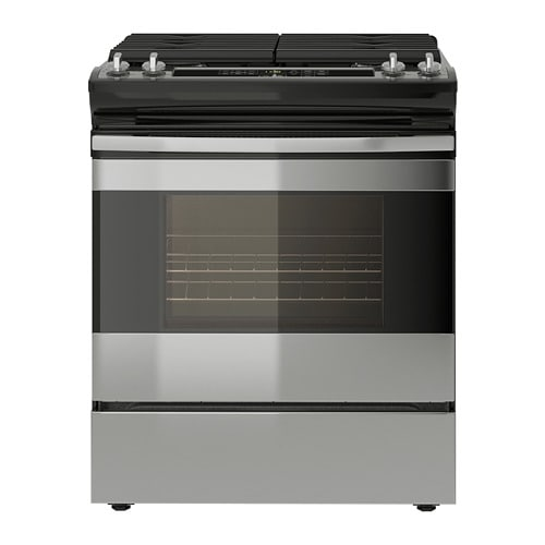 Tillagad Range With Gas Cooktop
