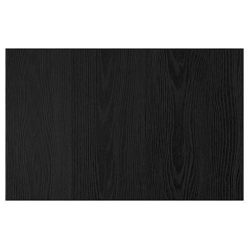 """TIMMERVIKEN door/drawer front black 23 5/8 """" 15 """""""
