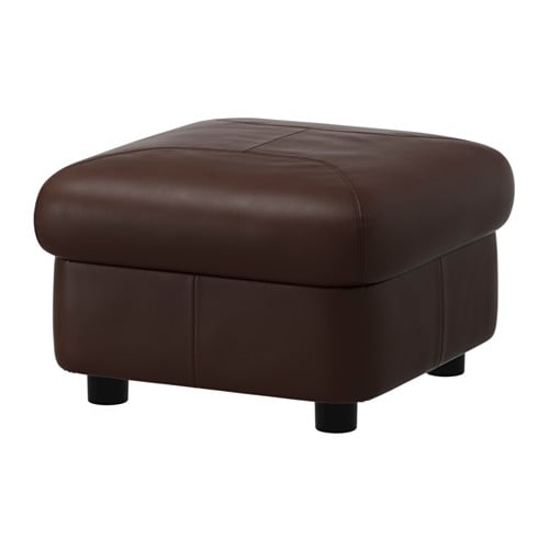 timsfors ottoman mjuk kimstad dark brown ikea. Black Bedroom Furniture Sets. Home Design Ideas