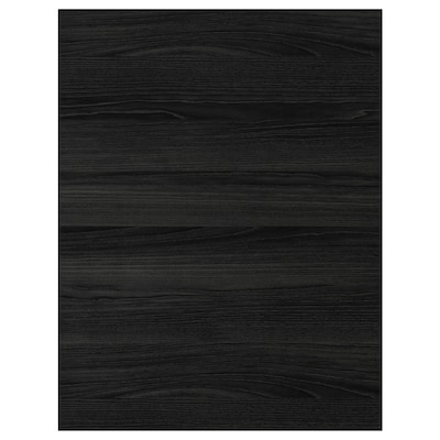 """TINGSRYD cover panel wood effect black 24 5/8 """" 30 """" 1/2 """""""