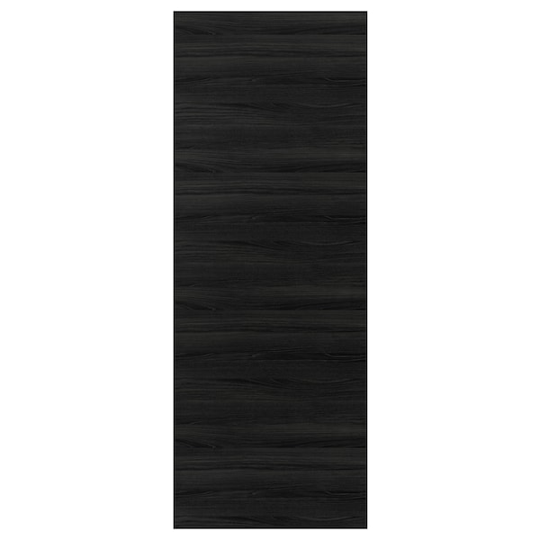 "TINGSRYD cover panel wood effect black 36 "" 96 "" 5/8 """