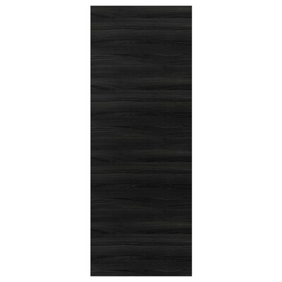 """TINGSRYD cover panel wood effect black 36 """" 96 """" 5/8 """""""