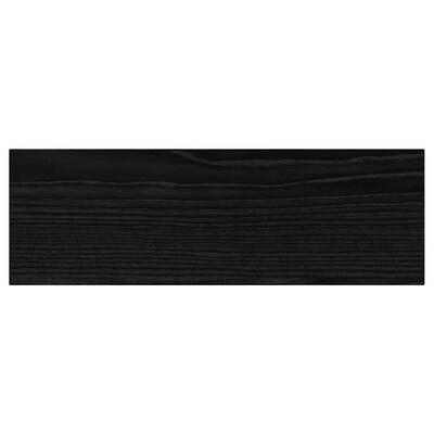 "TINGSRYD drawer front wood effect black 14 7/8 "" 5 "" 15 "" 4 7/8 "" 5/8 """
