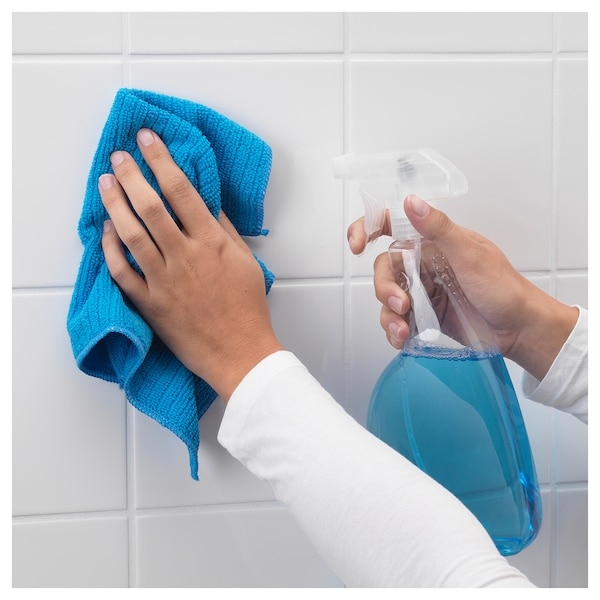 """TISKEN towel rack with suction cup white 34 ¼ """" 20 ¾ """" 32 ¾ """" 3 ¼ """" 4 """" 6 lb 10 oz"""