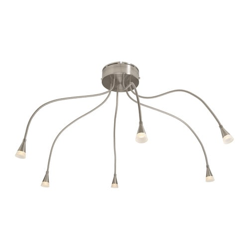 "TIVED Ceiling spotlight  Max. height: 28 "" Base diameter: 7 ""  Max. height: 72 cm Base diameter: 18 cm"
