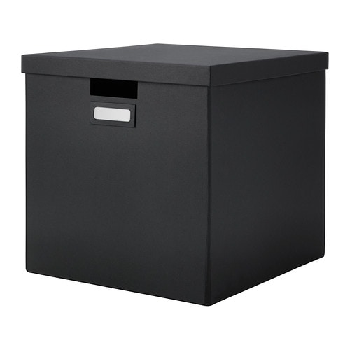 Kids Room Bedroom Storage Chest Unit Box With Lid For Sale: TJENA Box With Lid
