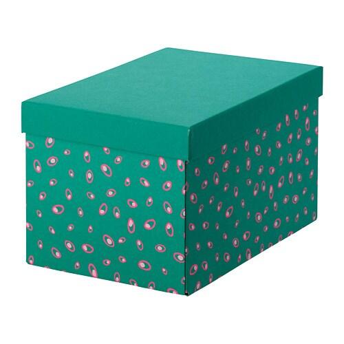 TJENA Storage box with lid - IKEA